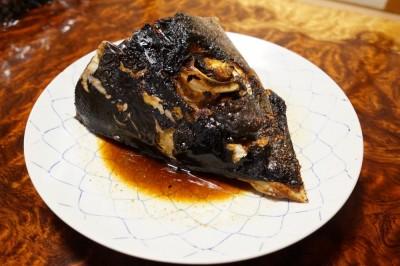 鮪カブト焼
